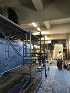 抽水場排気装置設置工事