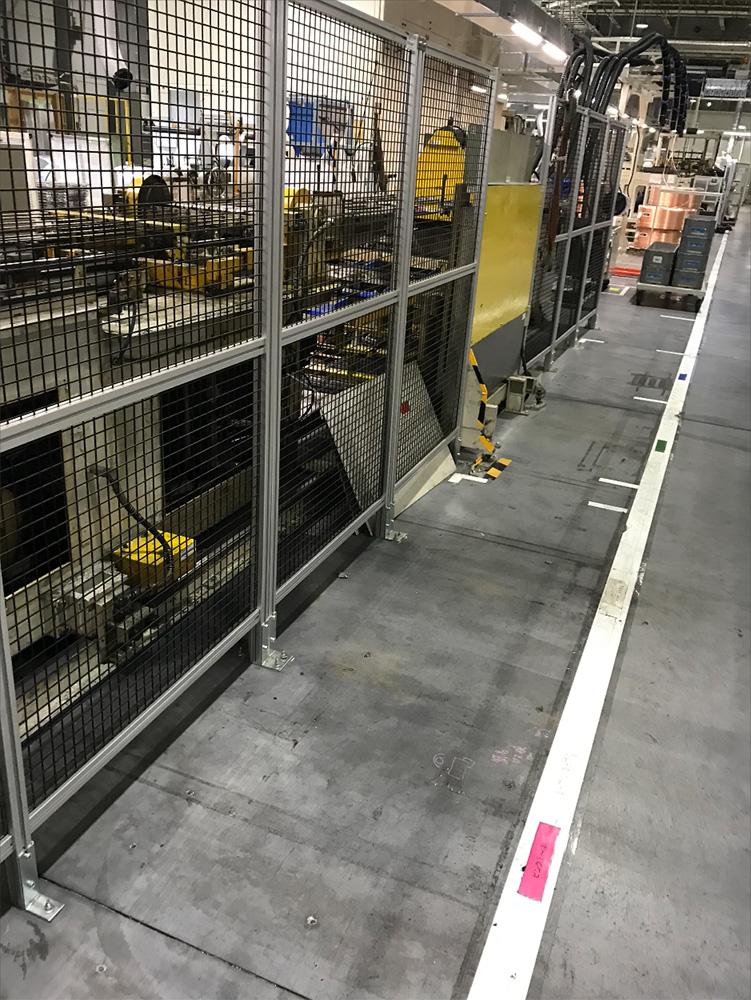 ベンダー装置安全対策工事